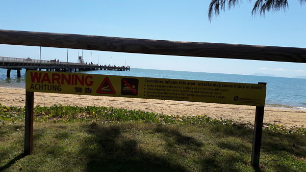 Crocodile warnings Queensland